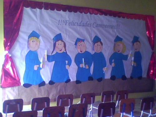 Decoraciones Para Graduacion De Preescolar