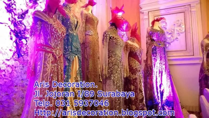 baju pengantin aris decoration