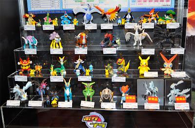 Pokemon Plamo Keldeo BW Kyurem Bandai from AmiAmiBlog