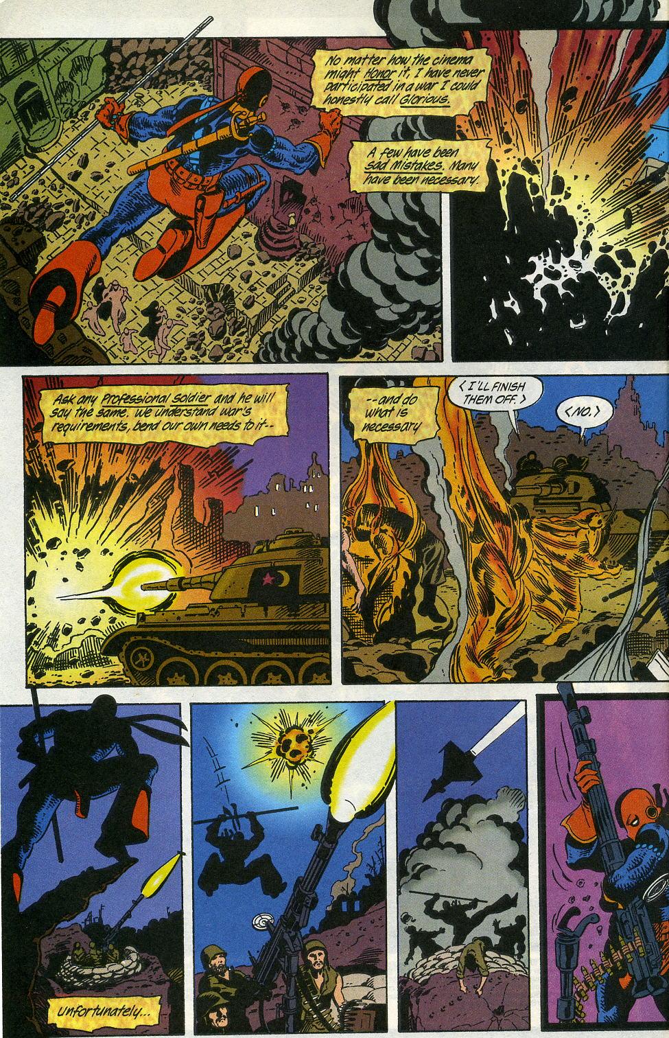 Deathstroke (1991) Issue #3 #8 - English 4