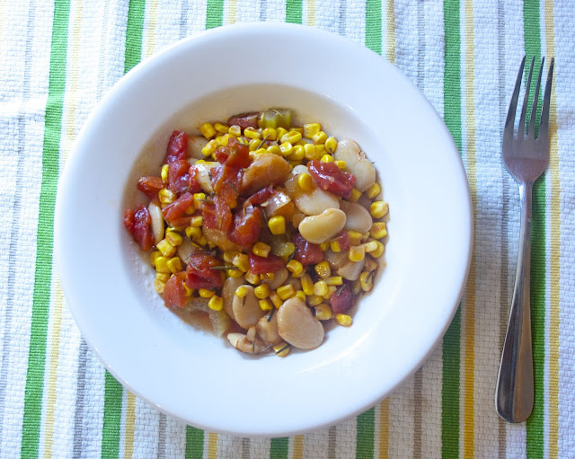 Traditional Succotash: simplelivingeating.com