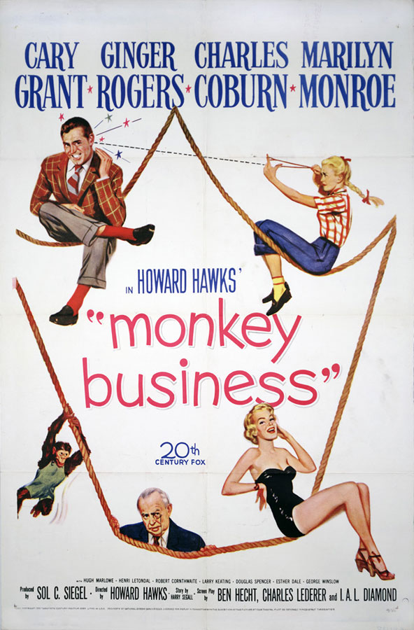 [Terminé] Ginger Rogers dans Monkey Business (1952) Films-monkey-business-poster