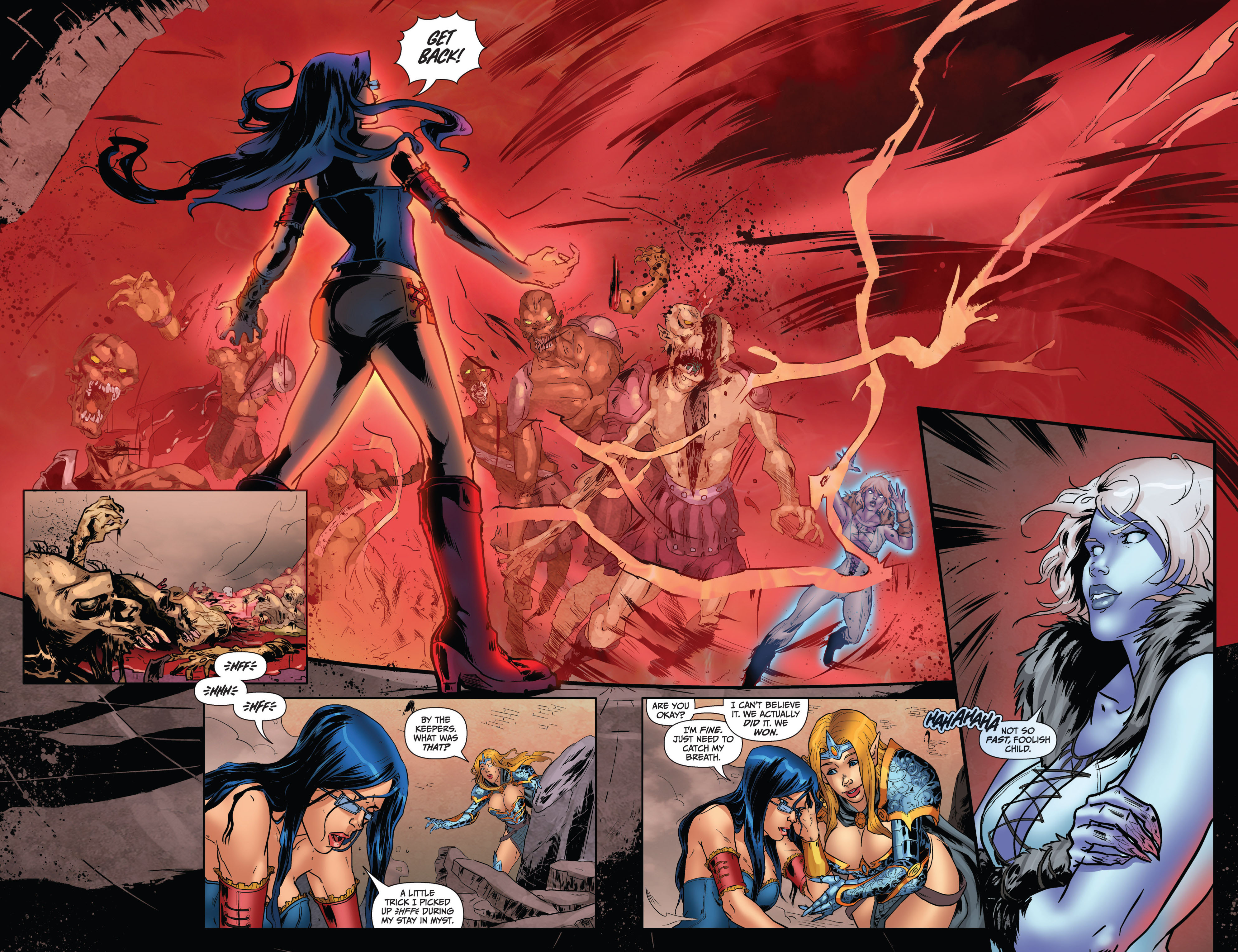 Grimm Fairy Tales (2005) Issue #74 #77 - English 10