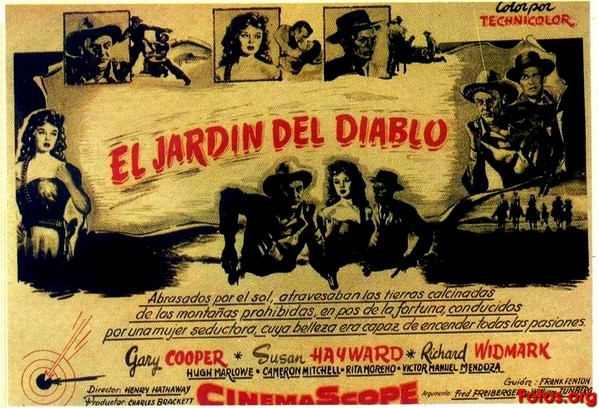 far west el jard n del diablo 1954