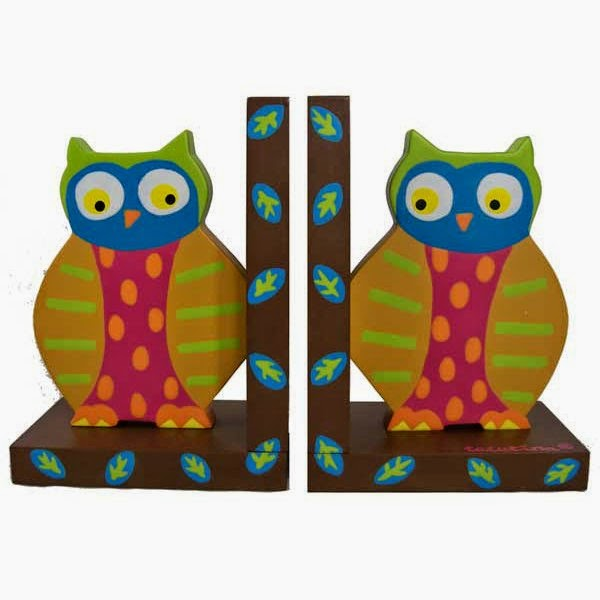 owl book end
