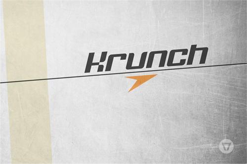 Krunch free font