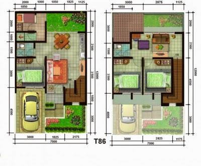 Contoh Gambar Desain Rumah Tipe 36 Minimalis