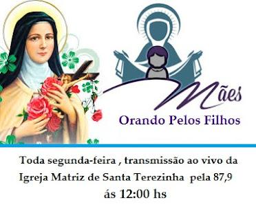 Toda Segunda-feira , Mães Orando pelos os filhos , ás 12:00hs