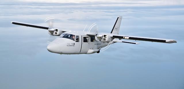 Vulcanair P68 multi-mission aircraft