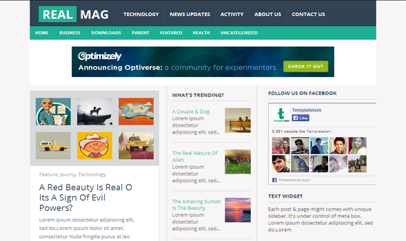 RealMag-Responsive-Blogger-Template