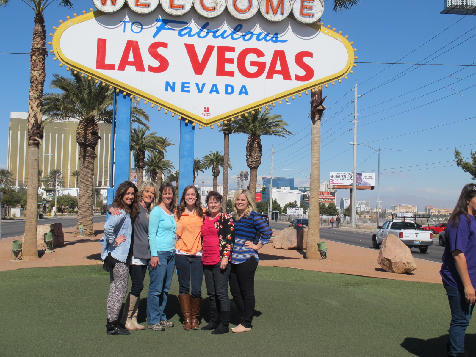 elder family events more pictures of our girls trip to las vegas. Black Bedroom Furniture Sets. Home Design Ideas