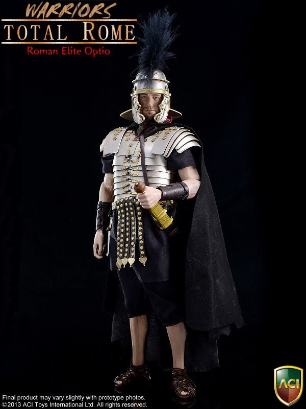 onesixthscalepictures: ACI Toys Total Rome Warriors ROMAN