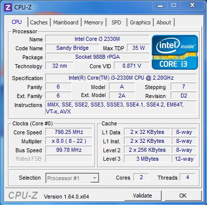 CPU-Z 1.64