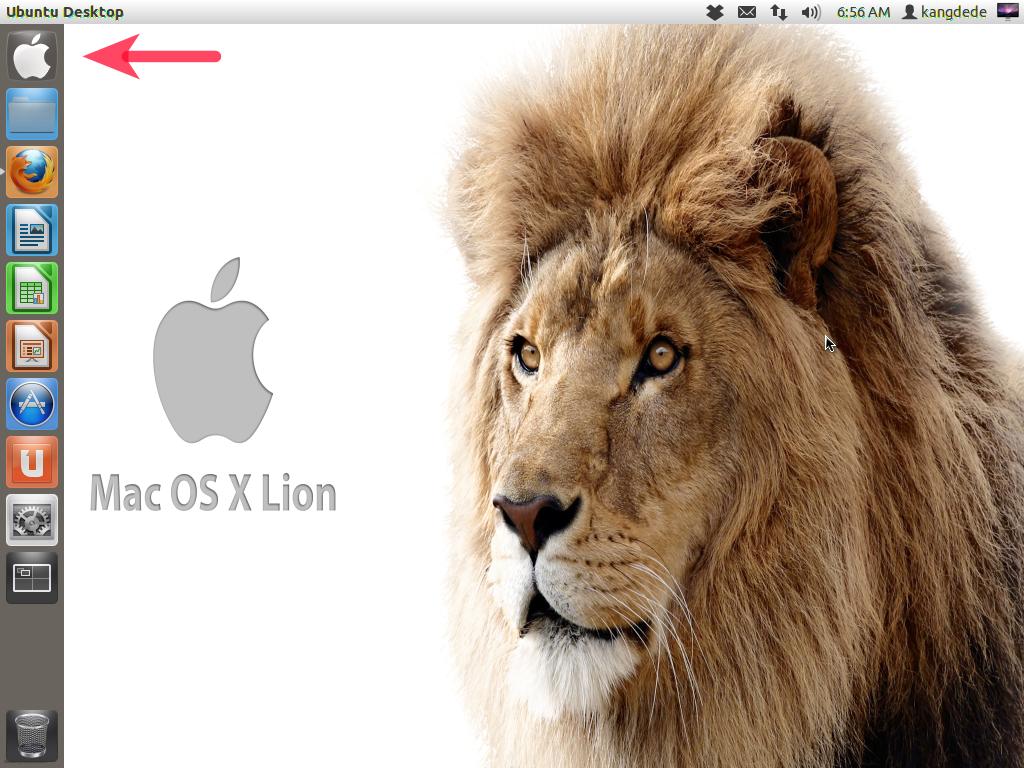 Pada tutorial kali ini kita akan menginstall theme mac os x lion pada ubuntu 1204 precise pangolin