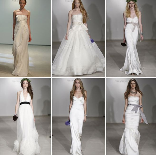 Vera Wang Grecian Wedding Dress