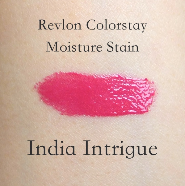 Revlon Colorstay Moisture Stain India Intrigue swatch