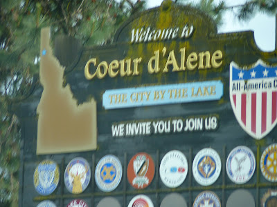 Welcome to Coeur d'Alene