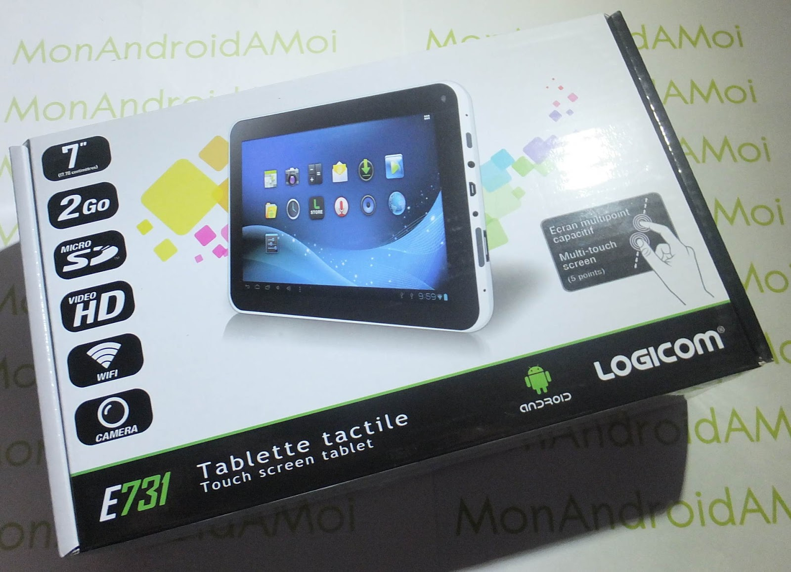 Tablette logicom pouces - Tablette tactile 7 logicom ...