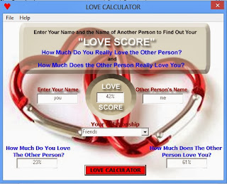 Love Calculator Software