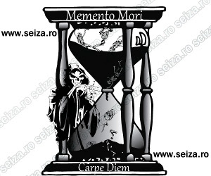 Death tatoo / Grim Reaper tattoo / hourglass tattoo