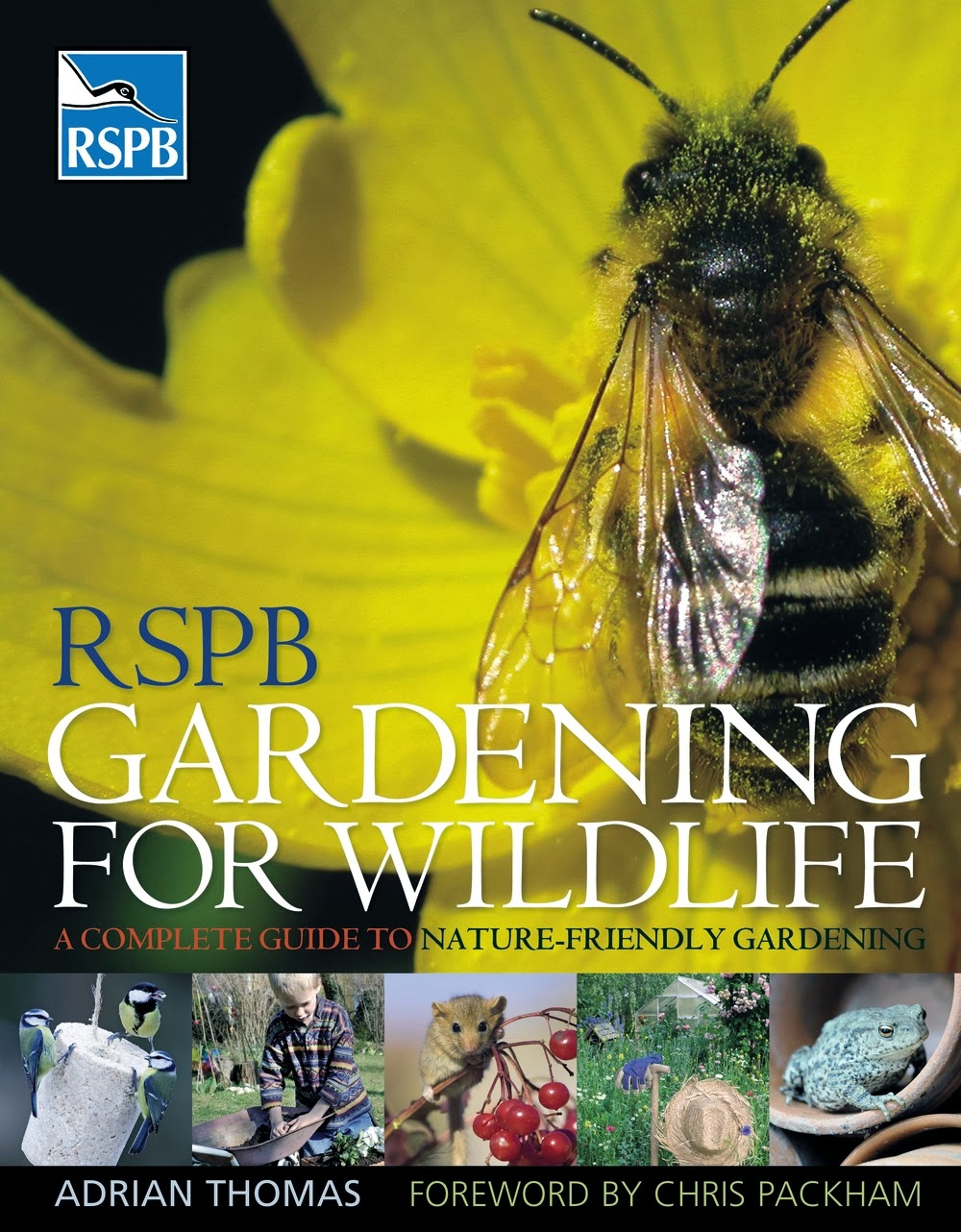 RSPB Gardening For Wildlife Book