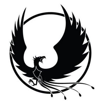 El ave fenix for Fenix tribal tattoo