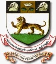University of Madras Recruitment 2016
