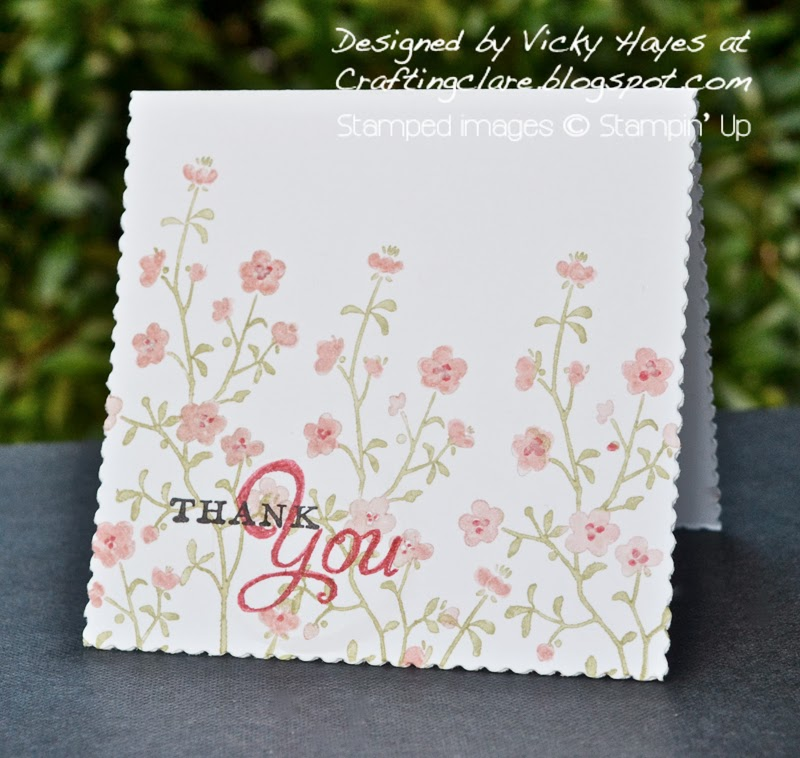 Buy Stampin' Up rotary addition from Vicky at Crafting Clare's Paper Moments