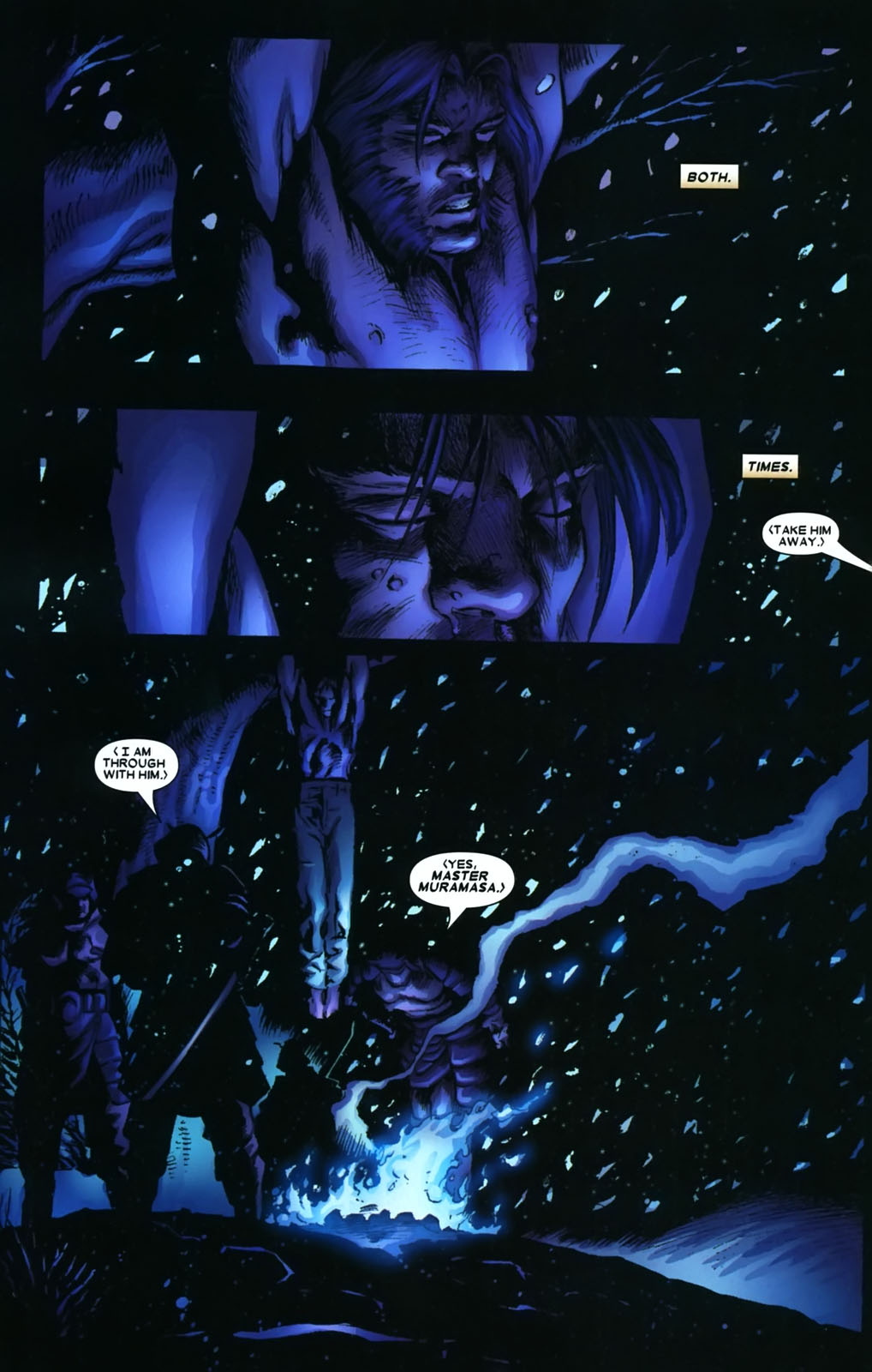 Read online Wolverine (2003) comic -  Issue #38 - 12