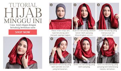 Tutorial Style Hijab Modern untuk Remaja