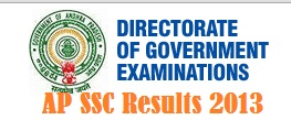AP SSC 10th Class Results 2013 Download at bseap.org manabadi.com and schools9.com