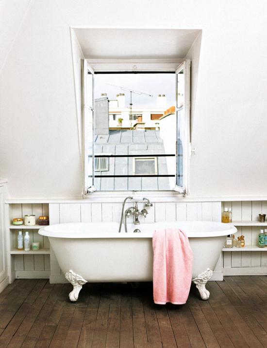 Apartment in Paris via Elle Decor, found via Planete Deco.