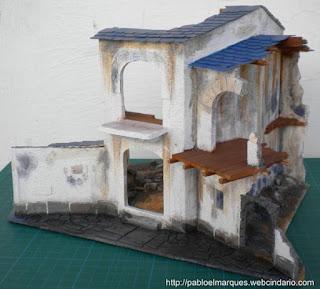 foto maqueta edificio en ruias