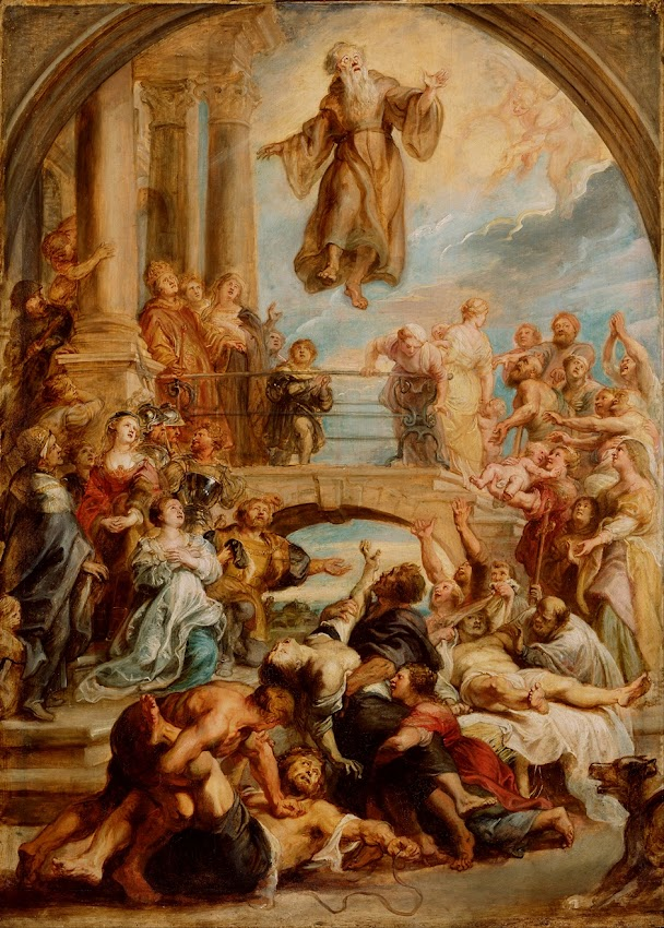 Peter Paul Rubens - The Miracles of Saint Francis of Paola