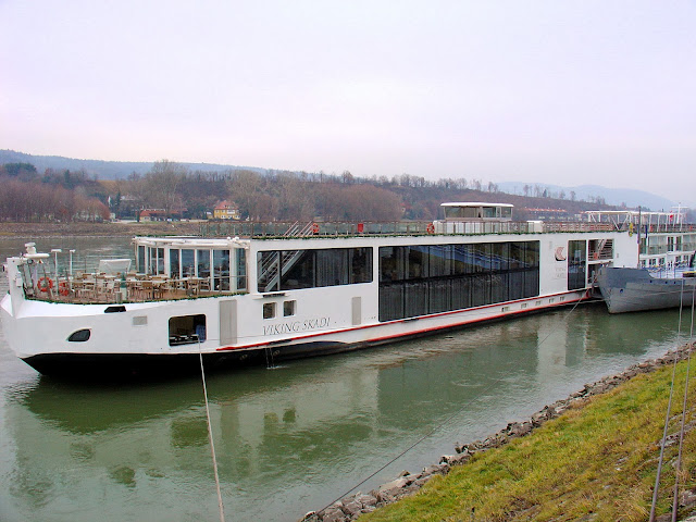 Viking River Cruises' Viking Skadi - our home for the week as cruise the Danube Waltz.