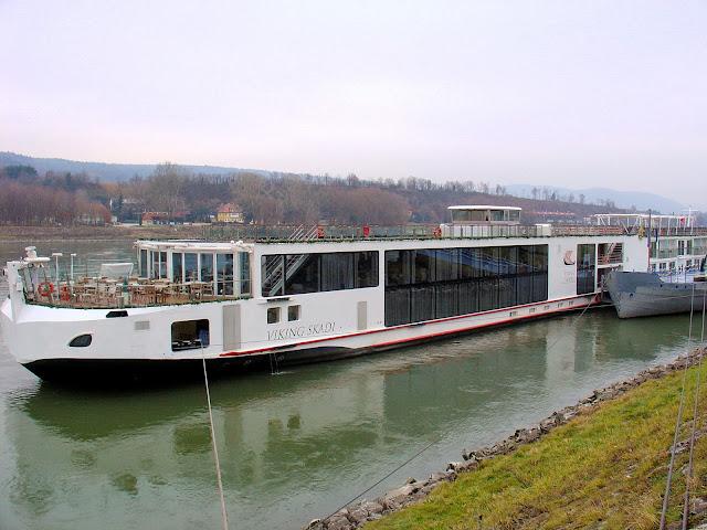 Viking River Cruises' Viking Skadi - our home for the week as cruise the Danube Waltz.