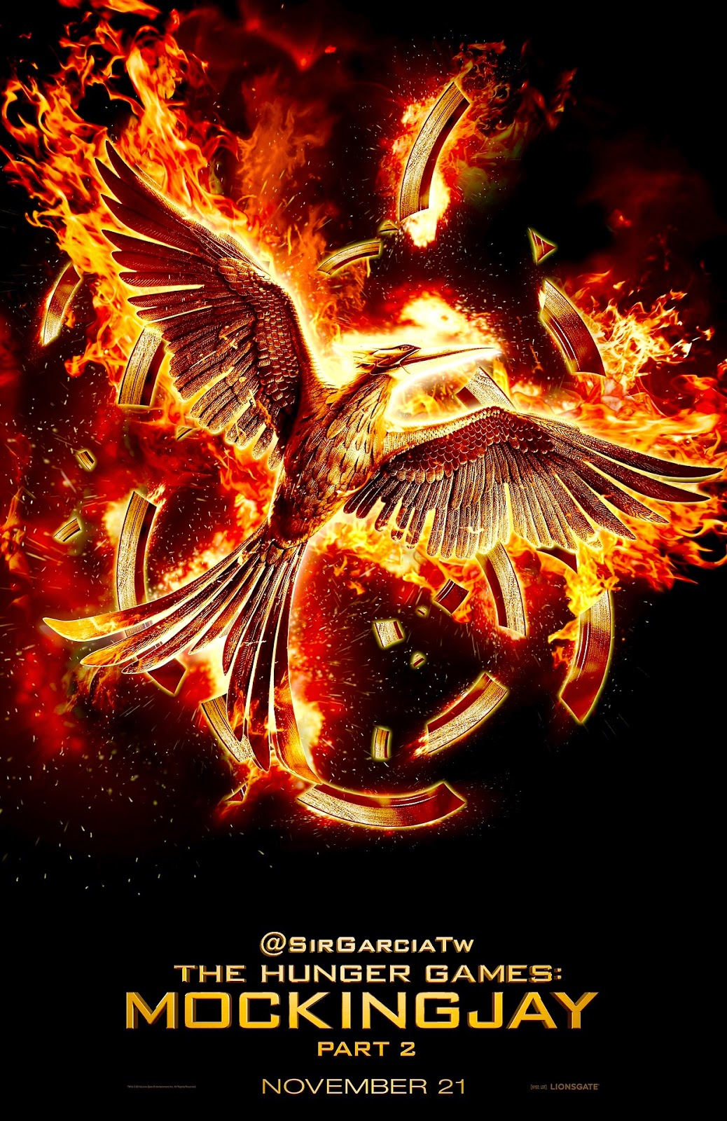 hunger games mockingjay part two poster