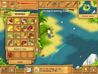 Free Download The Island Castaway PC Game Photo