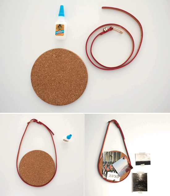 DIY: Belt + Board