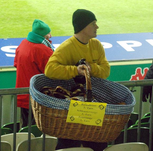 Kibice podczas meczu Werder Brema - AC Milan - fot. Tomasz Janus / sportnaukowo.pl