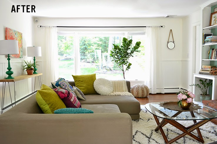 Copy Cat Chic Copy Cat Chic Room Redo Chilled Out Living Room