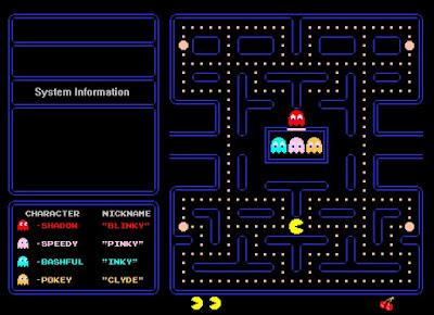 Fondo pantalla Pacman