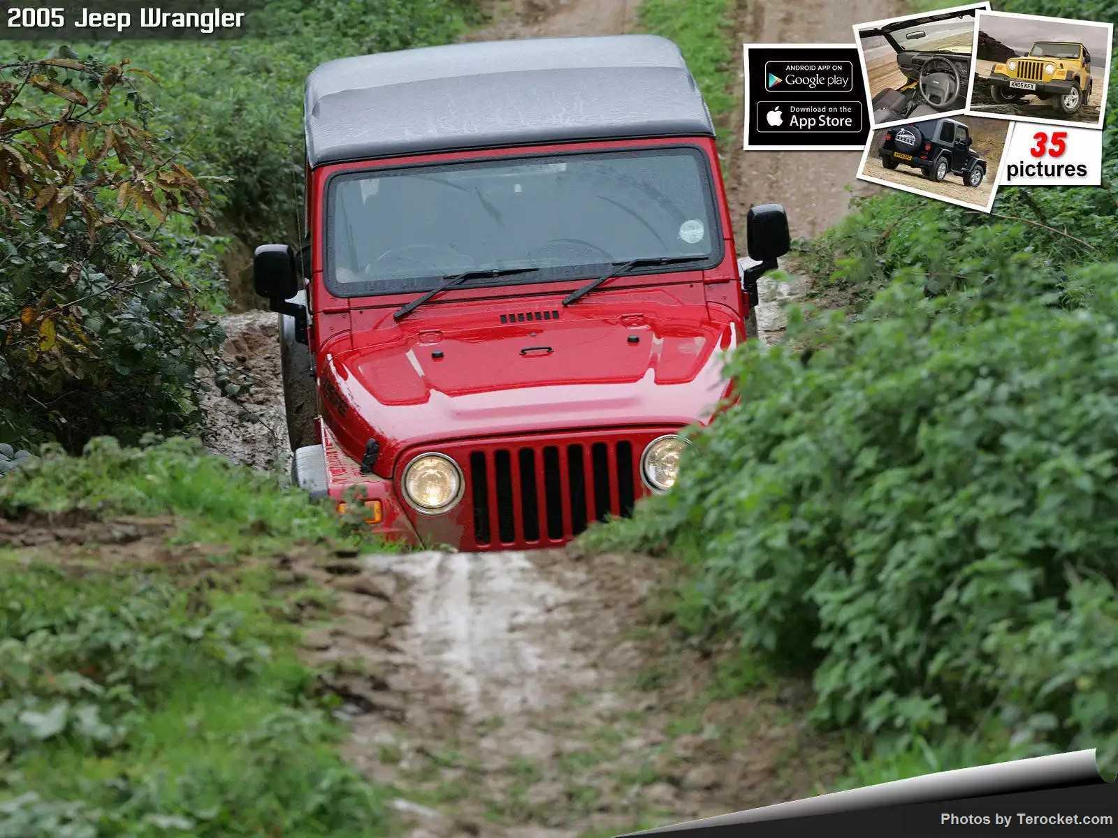 Hình ảnh xe ô tô Jeep Wrangler UK Version 2005 & nội ngoại thất