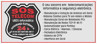 MARAB/PA SOS TELECOM - NOSSO ESFORO  PARA O SEU CONFORTO E SEGURANA
