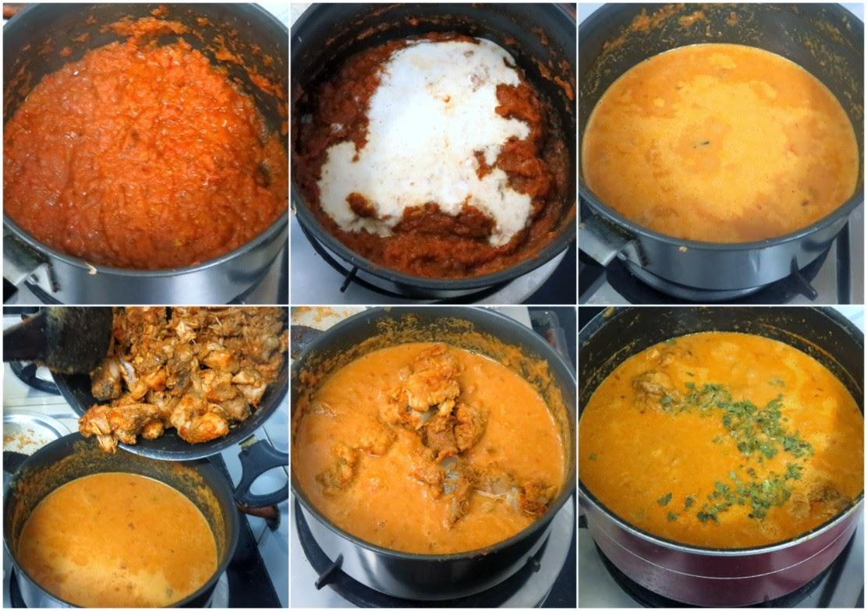 how to prepare chicken butter masala