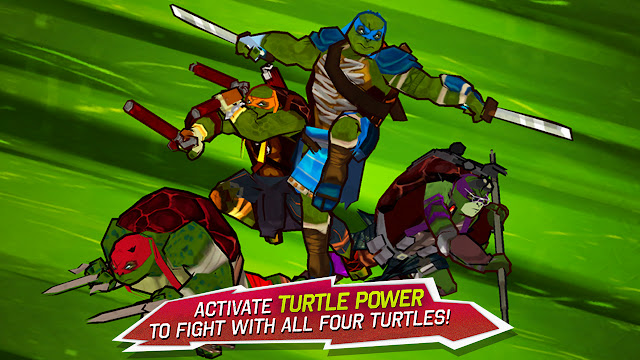 TMNT: Brothers Unite Unlimited Gold