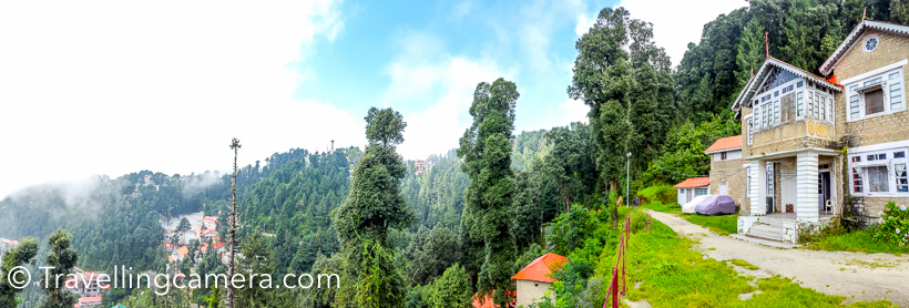 Recently when I visited Khajjiar, I spent some time walking around Dalhousie town , Lakkad Mandi, Kala Top and Panchpula . The weather around Dalhousie hills ensures that you don't sit inside the room and sip ginger tea. Clouds keep playing hide-n-seek and the freshness of hills never make you feel tired. This Photo Journey shares some of the beautiful walks around Dalhousie town.Here I am not sharing the know walks around Mall road of Dalhousie. One of the beautiful walks is trek from Gandhi Chowk towards Lakkad Mandi. There are two routes - One is via Dalhousie Public school and the other starts from Gandhi Chowk & goes through dense forest. Both are motor-able roads, so you can also plan to take your vehicle if the distance is too much.From Lakkad Mandi, there are two treks - one is towards Kala Top  on the left and other is Dainkund on right. Trek towards Dainkund is steep, while walk towards Kala-top is very comfortable. No hike and beautiful walk in dense forest of high deodars. You might find some interesting birds around Kala-top.Notice above photograph and the water source. This water is coming from one of the natural water streams around Dalhousie hills. Most of these shops install their own pipelines to get 24*7 water supply.Above panorama is clicked with SamsungS5 around Nainikhad, when my bus stopped there for tea break. During these 15 minutes, I walked ahead and asked the conductor to pick me on their way.  All these landscapes make you feel that you should find a hut around these hills and stay-back. These terrains expose you to simple lives of villagers and a genuine smile all the time.There is another beautiful walk from Gandhi Chowk of Dalhousie to Panchpula Waterfalls. It's 3 kilometers downhill from Dalhousie town till Panchpula. This road offers you brilliant views of Dalhousie town and green valley with few villages. On the other side, you would see a unique village with all brown colored houses of same size. This village looks abandoned. I wish to trek to this village some time. One can go towards this high hill from Panchpula. There is a small route which takes you to the village.  A stretch of 1.5 kilometers on Dalhousie-Khajjiar road is maintained by Dalhousie Public School. This road is full of colorful flowers all around and near school campus one army tank , a Mig and few missiles are installed. Kids like going around this place.During sunset time, one can walk around Subhash Chowk. There are 4 roads on Subhash Chowk - 2 of them go towards Gandhi Chowk, one leads you to bus-stand and the fourth one takes you downwards towards Dalhousie hospital road which takes a turn towards right and exposes you to  brilliant sunset views. This road connects you back at Subhash Chowk from other side of the church.These are again very well known walks or treks around Dalhousie and there is no need to limit ourself to these treks. Hills also offer you flexibility of discovering your own terrains and define your own treks. And it's very interesting and easy if you plan short treks/walks.