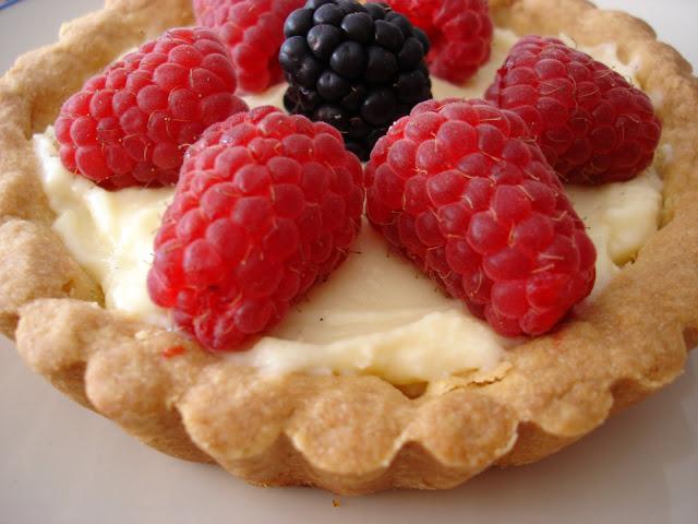 Receta de tartaletas de frutas elpostreperuano.blogspot.com/