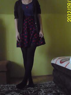 Dzisiejszy retro outfit