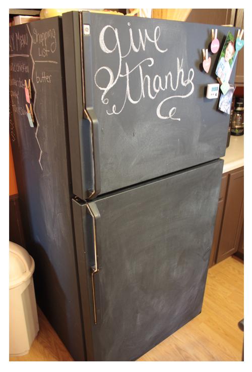refrigerator makeover but first comes love. Black Bedroom Furniture Sets. Home Design Ideas